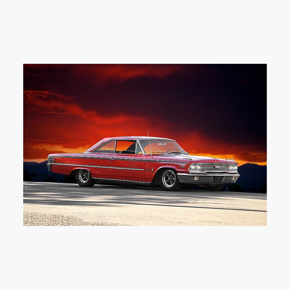 """1963 Ford Galaxie '427 """" Lámina fotográfica"""