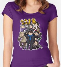 221b Women's Fitted Scoop T-Shirt