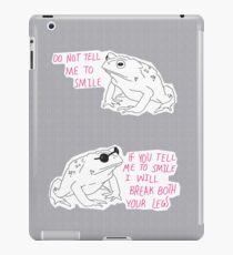 Sassy Toad iPad Case/Skin