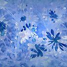 Daisies in Blue by Albert