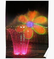 Vivid 2013 - Darling Harbour Flower Poster