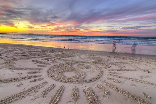 Sand Sunrays by Cheryl Styles