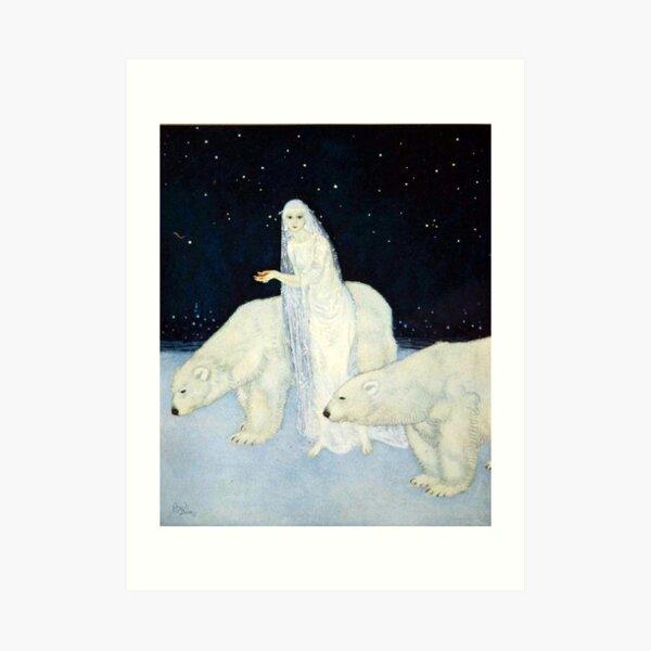 The Ice Maiden - Edmund Dulac Art Print