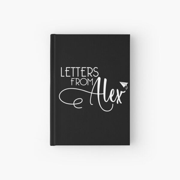 Letters From Alex Logo - White Hardcover Journal