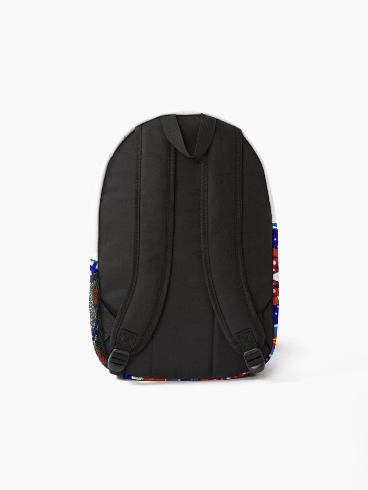 Alternate view of Flags of the World Backpack