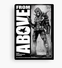 From Above Comic Book Canvas Print