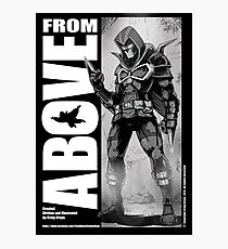 From Above Comic Book Photographic Print