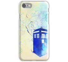 Pop Tardis iPhone Case/Skin
