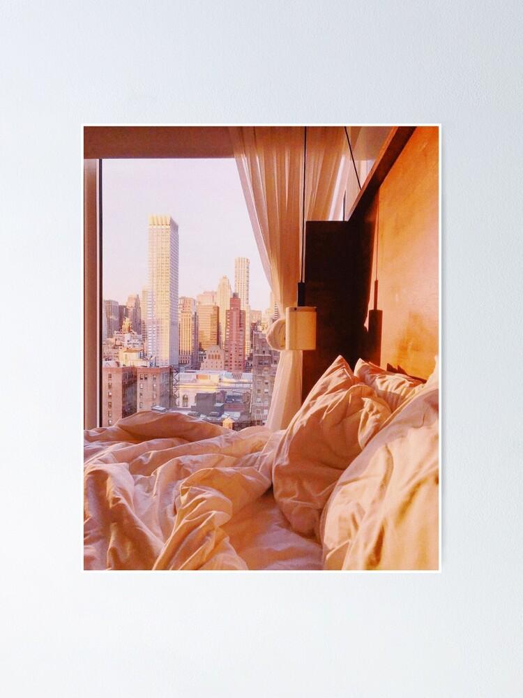Alternate view of Golden Hour in New York Poster