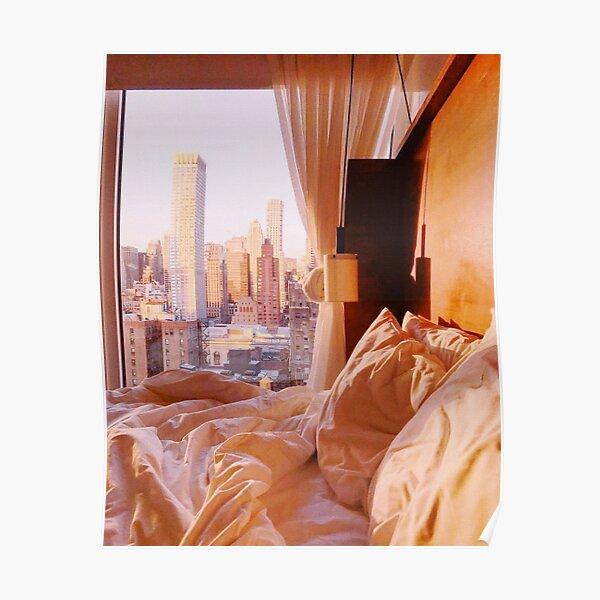 Golden Hour in New York Poster