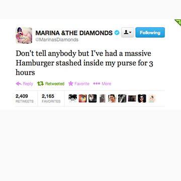 marina tweet by treybrown