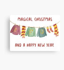 from weasley family to you Canvas Print