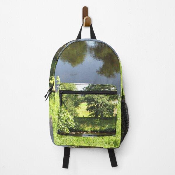 Merch #95 -- Stream Between Trees - Shot 4 (Hadrian's Wall) Backpack