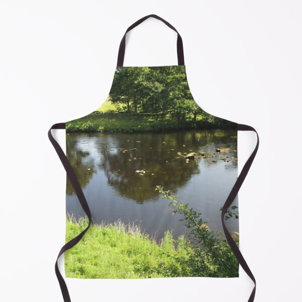 Merch #95 -- Stream Between Trees - Shot 4 (Hadrian's Wall) Apron