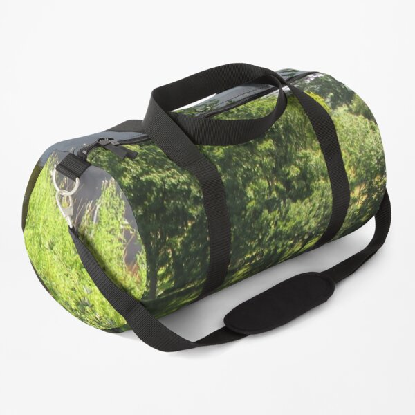 Merch #95 -- Stream Between Trees - Shot 4 (Hadrian's Wall) Duffle Bag