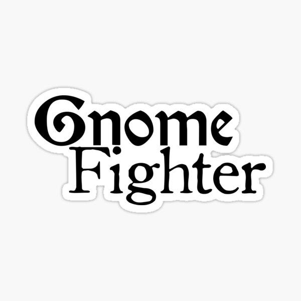 Gnome Fighter Sticker