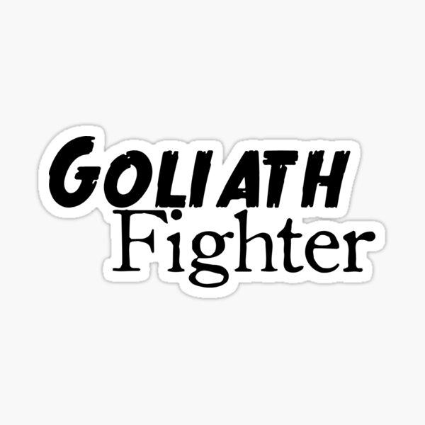 Goliath Fighter Sticker