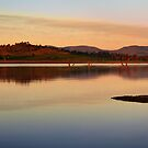 Lake Hume, New South Wales, Australia. by Andy Newman