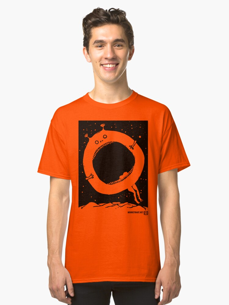 The Quoxxle (Black) Classic T-Shirt Front