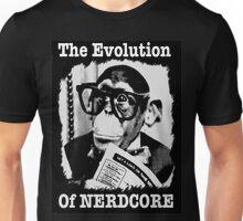 The Evolution of Nerdcore Unisex T-Shirt