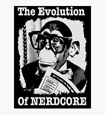 The Evolution of Nerdcore Photographic Print