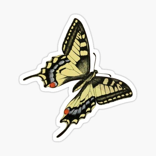 machaon (eastern tiger swallowtail) Sticker