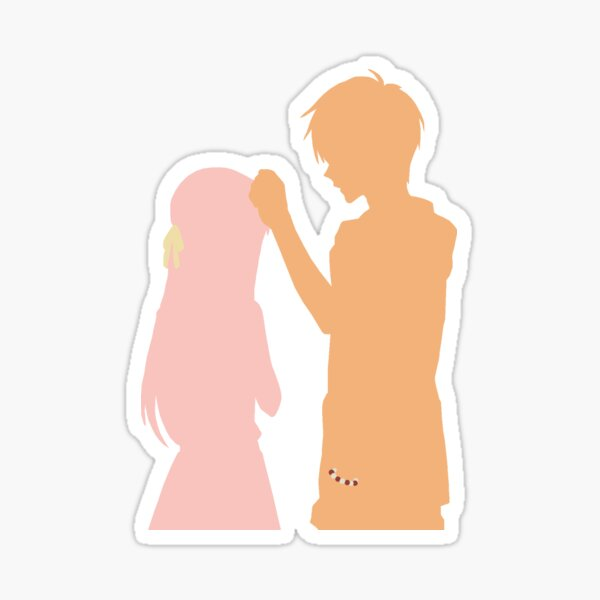 Tohru and Kyo  Sticker