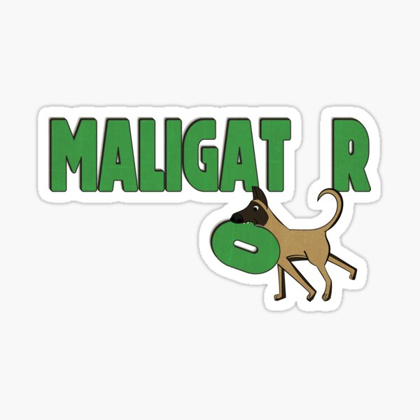 Maligator Sticker