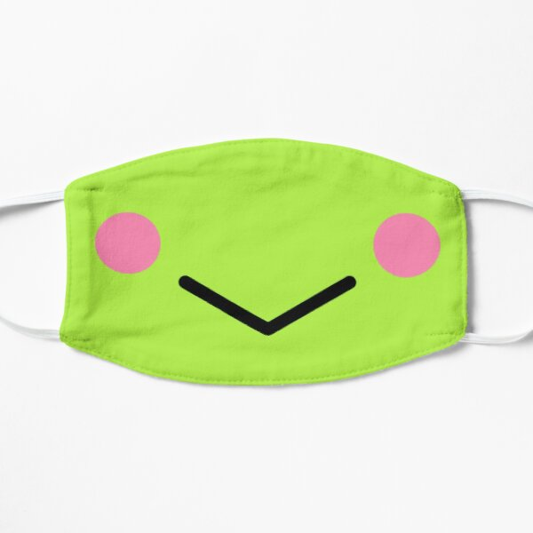 Happy frog mouth smile  Flat Mask