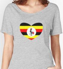 Uganda Women's Relaxed Fit T-Shirt