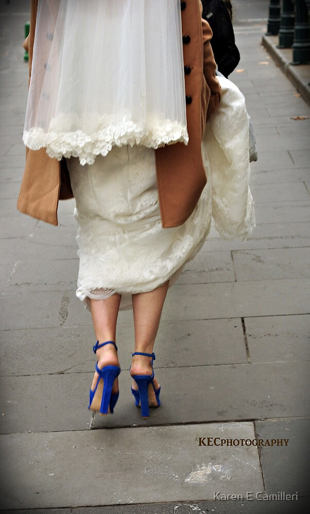 Blue Suede Shoes by Karen E Camilleri