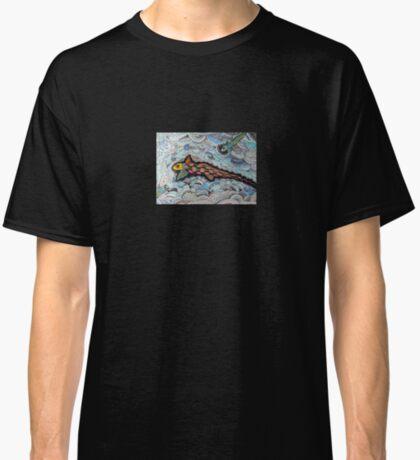 347 - RABBITFISH DESIGN - DAVE EDWARDS - COLOURED PENCILS & FINELINERS - 2012 Classic T-Shirt