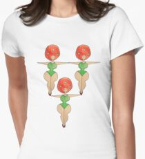 The Plump Sisters - Equilibre Womens Fitted T-Shirt