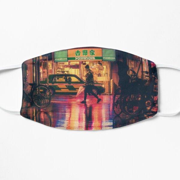 Japanese City Street Flat Mask