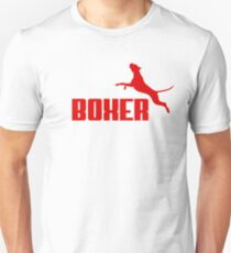 Boxer (red) Unisex T-Shirt