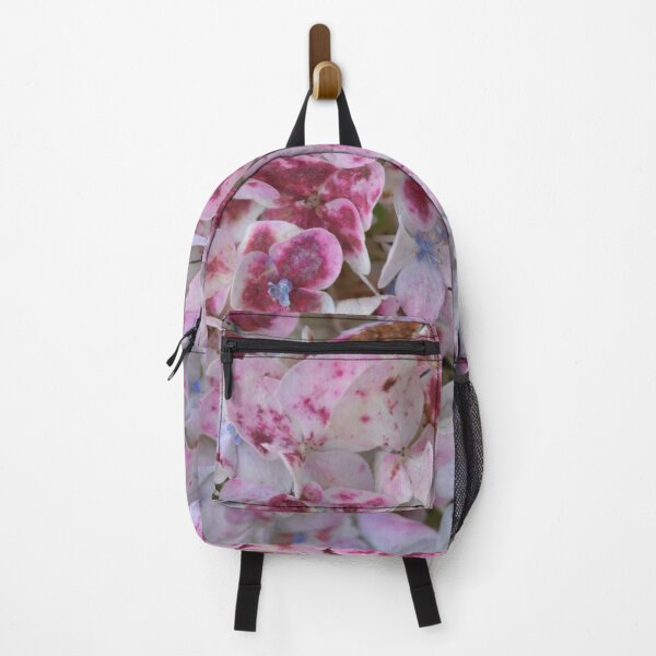 Pink Hydrangea Backpack