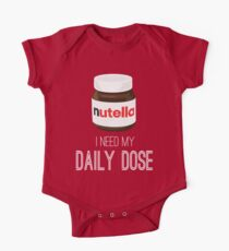I need my daily dose >Nutella< One Piece - Short Sleeve