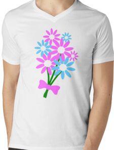 Floral bouquet Mens V-Neck T-Shirt