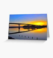 Mission Bridge Greeting Card