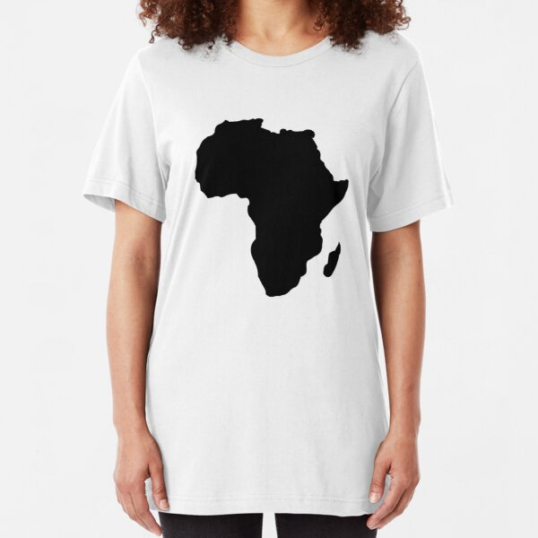 Africa Slim Fit T-Shirt