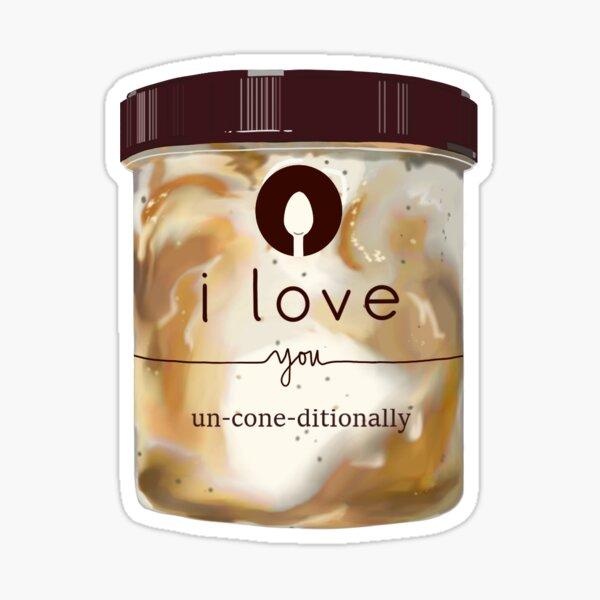 Talenti Caramel Cookie Crunch  Sticker