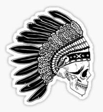 Crying Chieftain Sticker