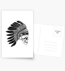 Crying Chieftain Postcards