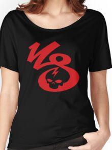 KrakkdSkullz - KS Logo - Red Women's Relaxed Fit T-Shirt