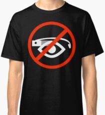 Ban sign (white) Classic T-Shirt