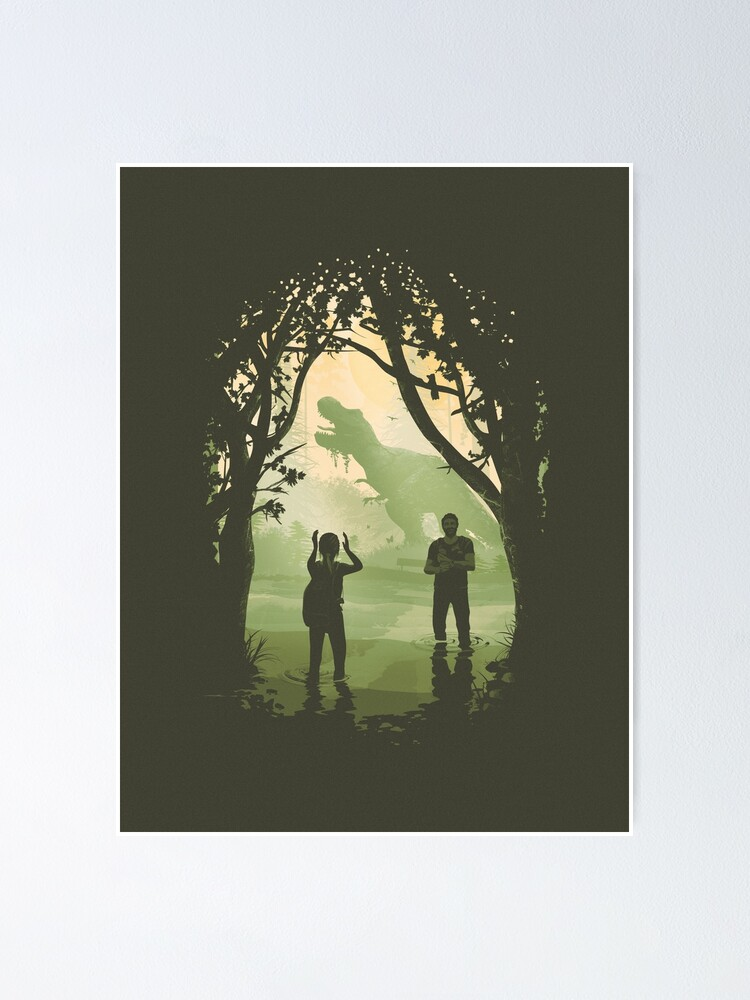 Alternate view of The Last of Us 2 - Ellie's T-Rex Poster