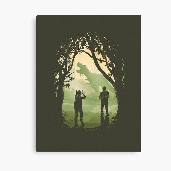 The Last of Us 2 - Ellie's T-Rex Canvas Print
