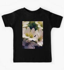 Wildflowers 1 - Hoary Alyssum Kids Tee