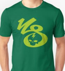 KrakkdSkullz - KS Logo - Chartreuse T-Shirt