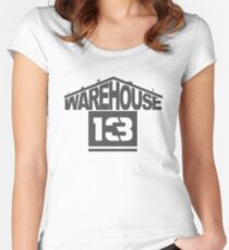 Warehouse 13 Women's Fitted Scoop T-Shirt